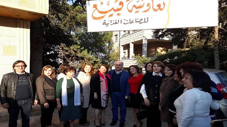 افتتاح تعاونية قبيع للصناعات الغذائية برعاية ابو الحسن