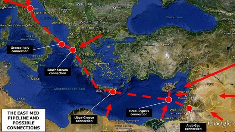 """ما هو مشروع """"EastMed"""" الذي أثار غضب تركيا من أوروبا؟"""