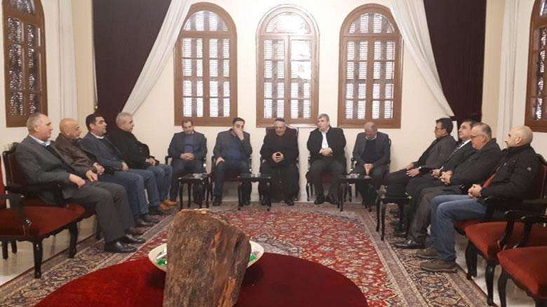 """""""التقدمي الشوف"""" زار المطرانين العمار والحداد مهنئاً بالميلاد ورأس السنة"""