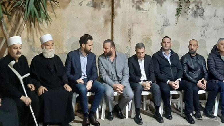 تيمور جنبلاط يزور عائلة الشهيد علاء أبو فخر في الشويفات