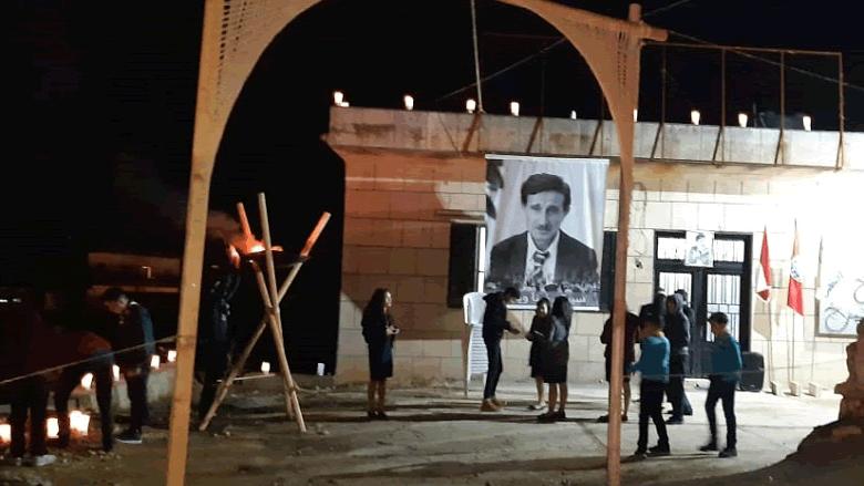 """""""التقدمي الشوف"""" يواصل إحياء ذكرى السادس من كانون بالمزيد من المسيرات الشعبية وإضاءة الشموع"""
