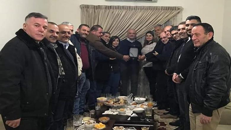 """""""التقدمي"""" الشوف الأعلى يكرم المعتمد السابق خالد حماد"""