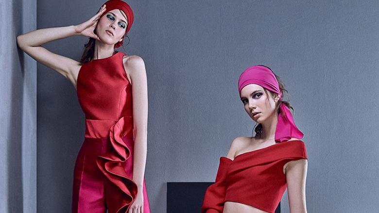 مجموعة أزياء من الحرير مع Azzi and Osta!