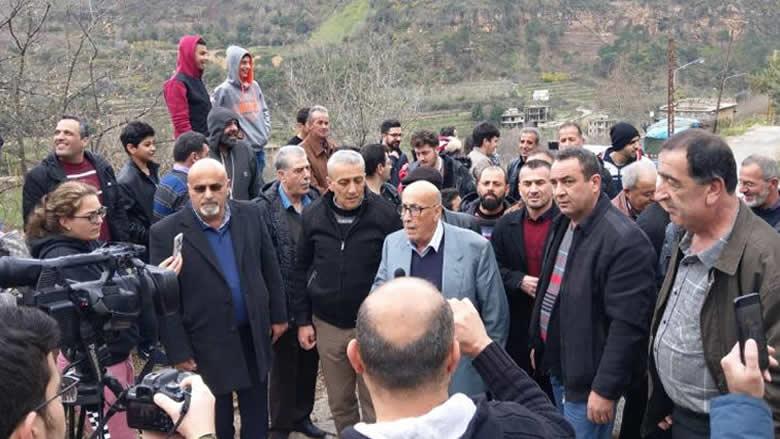 """اعتصام في مزرعة النهر بمشاركة """"التقدمي"""""""