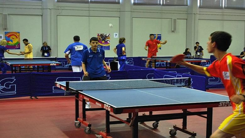 أربعة لبنانيين يشاركون في كرة الطاولة بالالعاب العالمية للاولمبياد الخاص