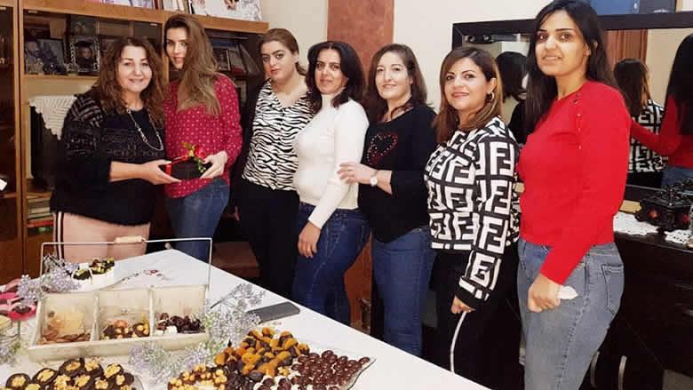 """دورة تصنيع شوكولا لـ """"النسائي التقدمي"""" في السريرة"""