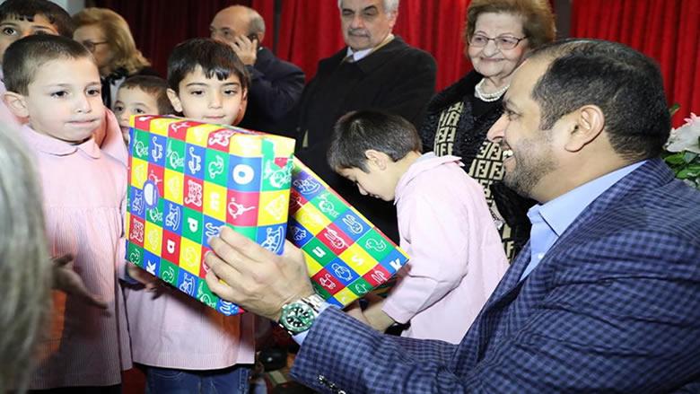 سفير الإمارات يزور بيت اليتيم الدرزي في عبيه