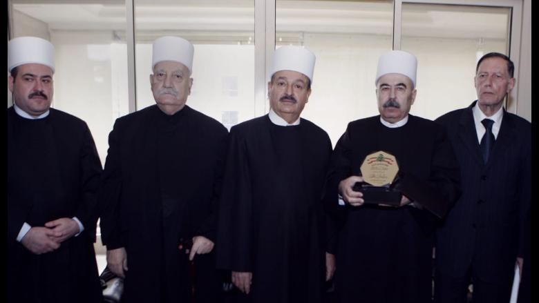 """""""المحكمة الدرزية"""" تكرم القاضي سليمان غانم"""