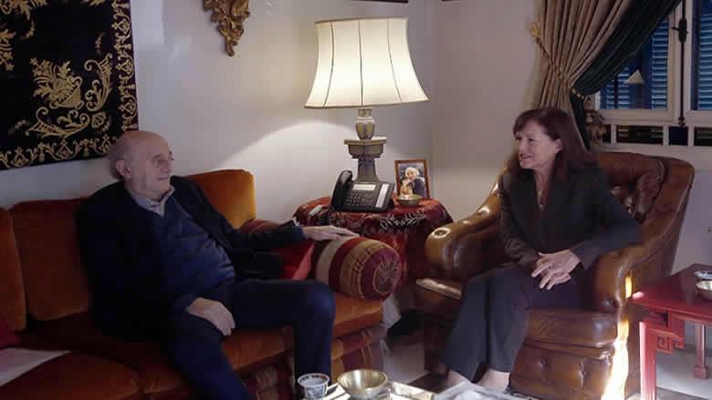 جنبلاط عرض الاوضاع مع السفيرة الاميركية