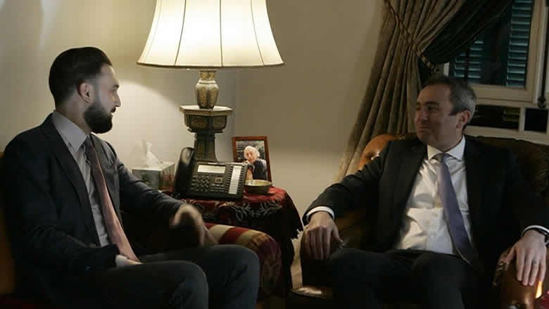 تيمور جنبلاط التقى السفير البريطاني وعرض معه التطورات