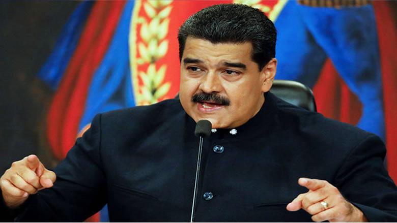 مادورو يتهم ترامب بالسعي لتعطيل الحوار