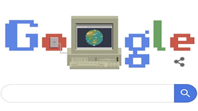 غوغل يحتفل بـالذكرى الـ 30 للشبكة العنكبوتية العالمية