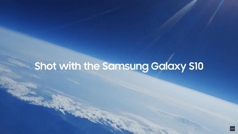 """سامسونغ تحتفل بإطلاق هواتفها الجديدة """"من الفضاء"""""""