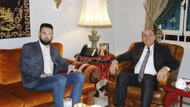 تيمور جنبلاط عرض وسفير تركيا التطورات في لبنان والمنطقة