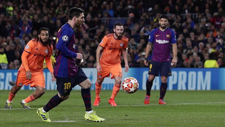 برشلونة يتأهل بسهولة أمام ليون