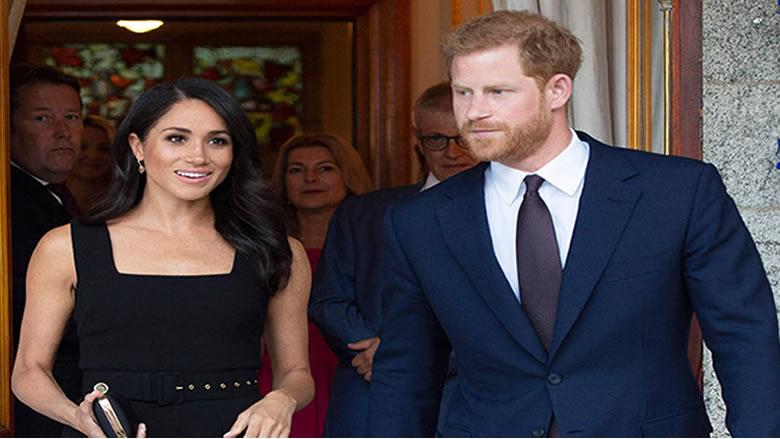 الأمير هاري وميغان يحصلان على بركة الملكة للعيش بإستقلالية
