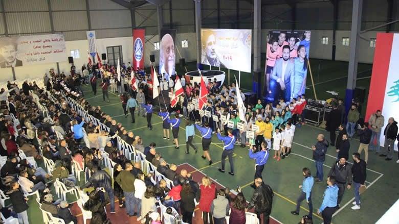 إفتتاح دورة المعلم الشهيد كمال جنبلاط الرياضية بحضور النائب تيمور جنبلاط