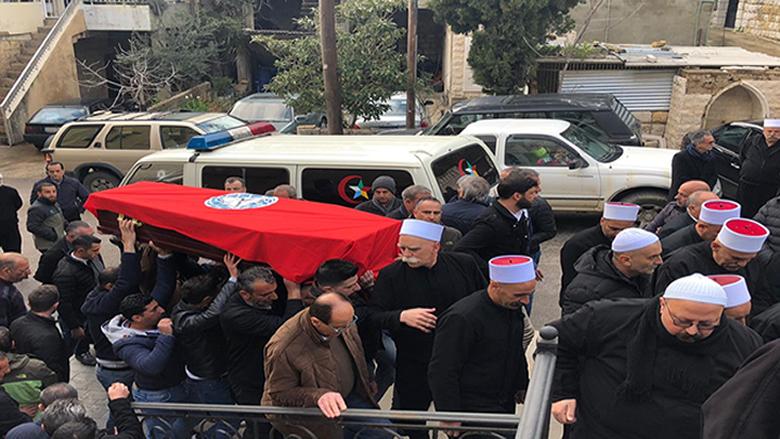 """تشييع المناضل عاطف حلاوي في مأتم حاشد بمشاركة """"التقدمي"""""""