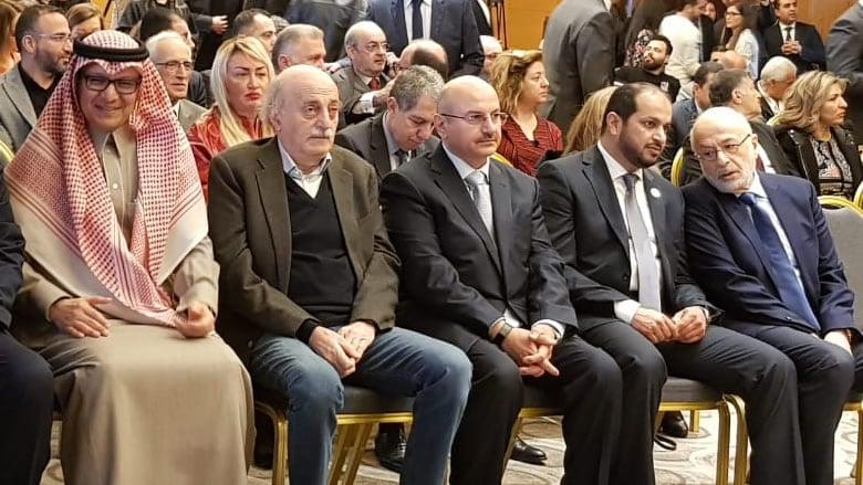"""""""التقدمي"""" أطلق مؤتمر النازحين... وجنبلاط: العودة لن تتحقق طالما يرفضها النظام"""