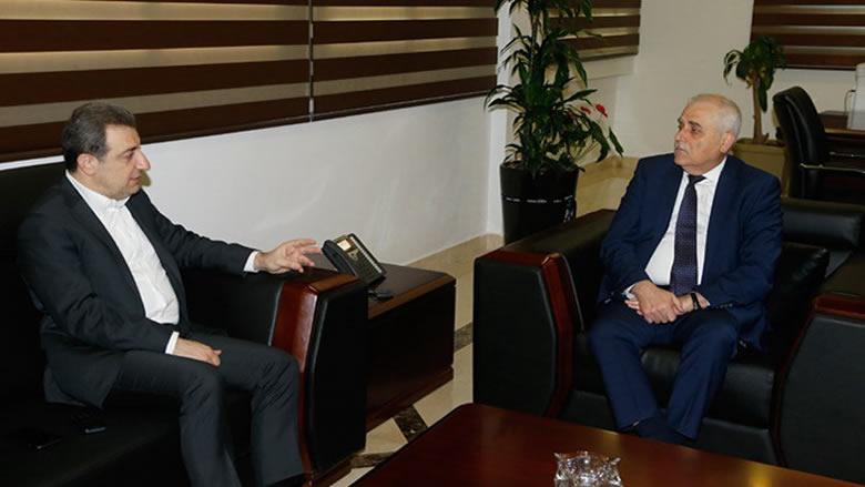إتفاق بين أبو فاعور وجبق على تفعيل الصناعة الدوائية