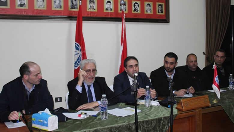 ناصر في لقاء حزبي في الجرد: قداس دير القمر لتعزيز وتحصين المصالحة الوطنية