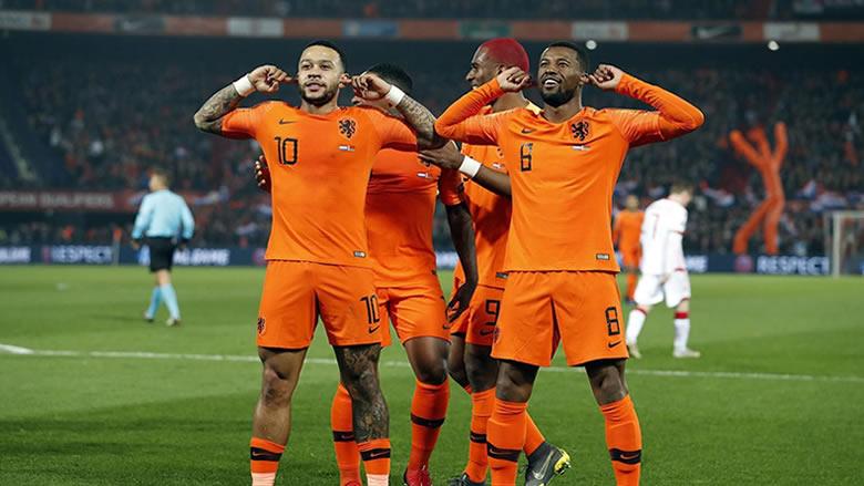تصفيات يورو 2020: هولندا تضرب بقوة منذ البداية