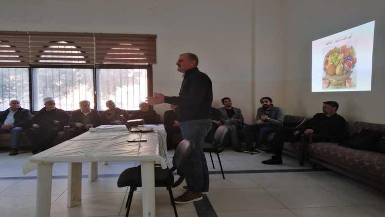 ندوة زراعية حوارية في بلدة باتر الشوف