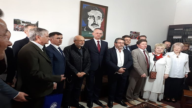 شهيب استقبل سفير بيلاروسيا على رأس وفد جامعي