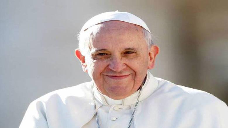 رسالة شكر من البابا فرنسيس للراعي