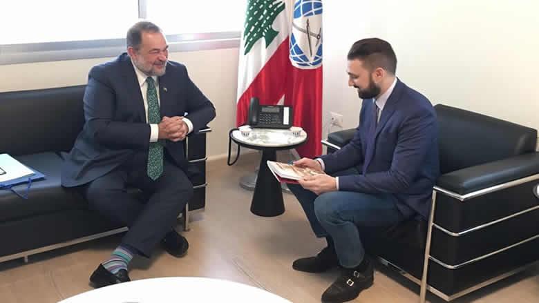 تيمور جنبلاط عرض وسفير البرازيل التطورات