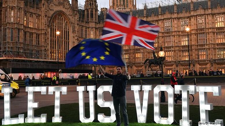 """برلمان بريطانيا يصوّت ضد كل الخيارات البديلة لـ""""بريكست"""""""