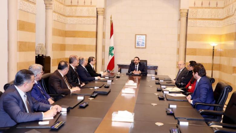 """أبو الحسن بعد زيارة وفد """"التقدمي"""" للحريري: توافقنا على عدة خطوات منها لجنة مشتركة لبحث ملف الكهرباء"""