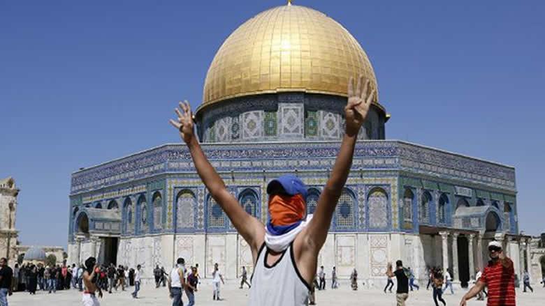 بشهادة المسجد الأقصى