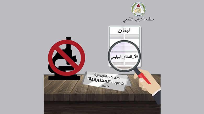"""""""الشباب التقدمي"""" ترفض الحكم بحق شمس الدين: لا لعودة الوصاية الأمنية"""