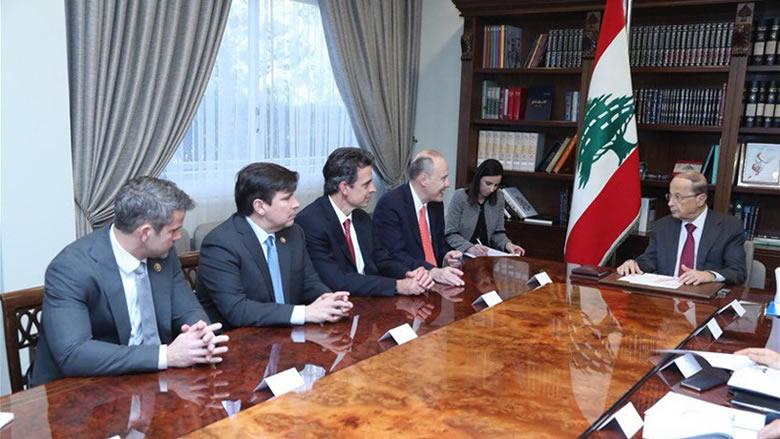 عون: لبنان يرفض وضع الجولان تحت السيادة الاسرائيلية