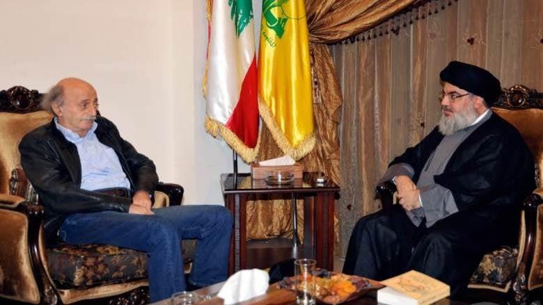 وليد جنبلاط وحزب الله وثالثهما معمل ماهر الأسد