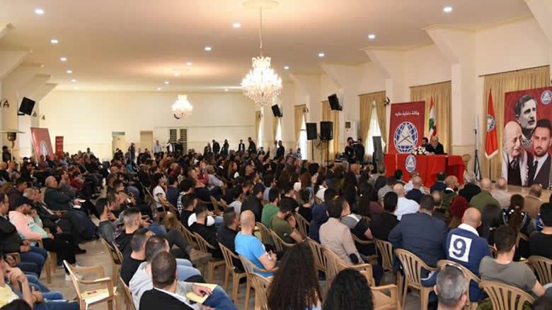 """داخلية عاليه في """"التقدمي"""" تحتفل بإنضمام 260 منتسباً جديداً"""