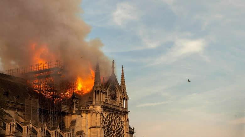 """هذا ما كشفته التحقيقات في حريق """"نوتردام"""""""