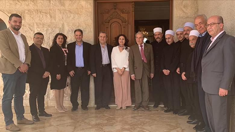 لجنة التواصل في المجلس المذهبي تجول على مرجعيات حاصبيا