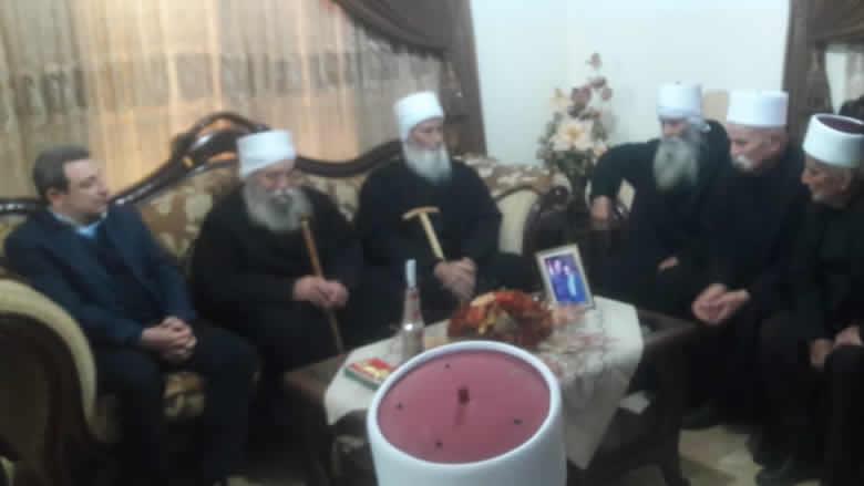 أبو فاعور جال معزيا في عين قنيا- حاصبيا