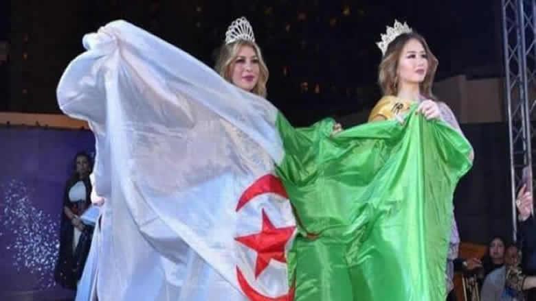 """جزائرية تتوج """"ملكة جمال العرب"""""""