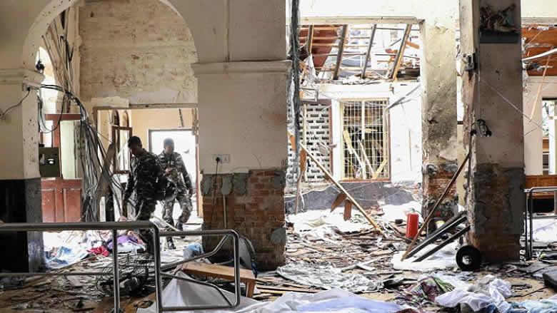 """سريلانكا تعلن الطوارئ.. و87 جهاز تفجير """"بموقع واحد"""""""