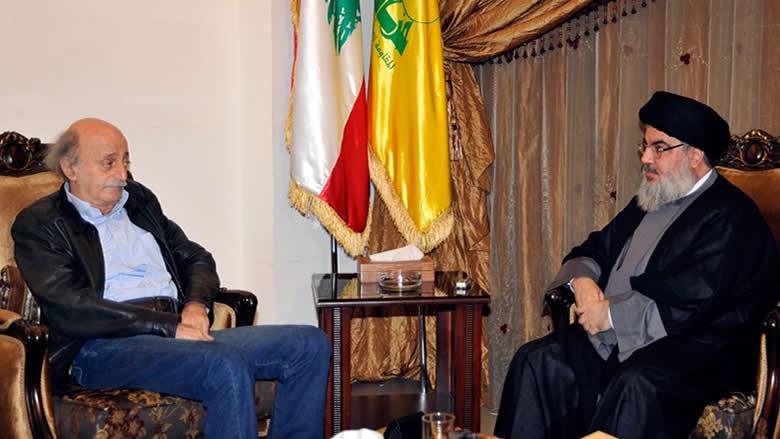 حزب الله ينتقم من جنبلاط في عين داره