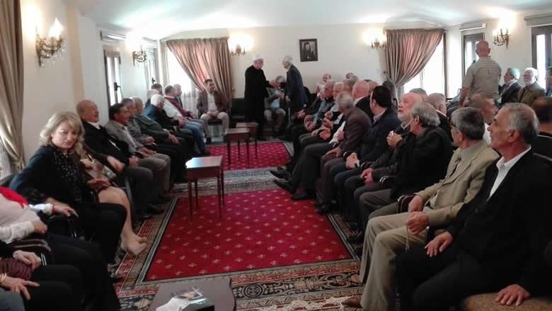 زيارة تهنئة بعيد الفصح في بلدة معاصر الشوف