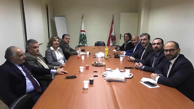 """مفوضية العدل في """"التقدمي"""" تلتقي محامي """"القوات اللبنانية"""": رفض مشترك للأساليب البوليسية"""