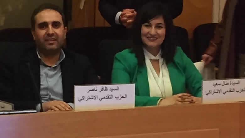 ناصر وسعيد في ورشة عمل حول التمثيل السياسي للمرأة