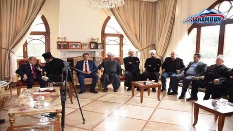 وزير الصحة يزور مستشفى حاصبيا الحكومي