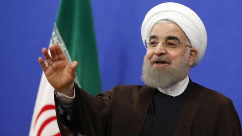 روحاني: إيران أعظم من أن تتعرض للترهيب