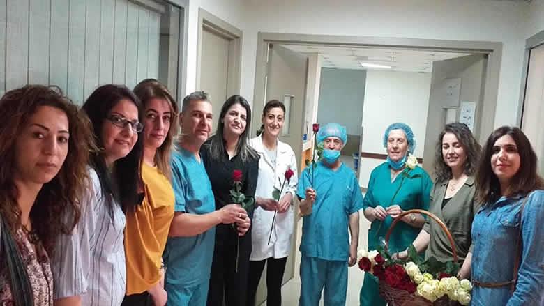 """""""النسائي التقدمي - حاصبيا"""" هنّأ الممرضين والممرضات بيومهم/ن"""