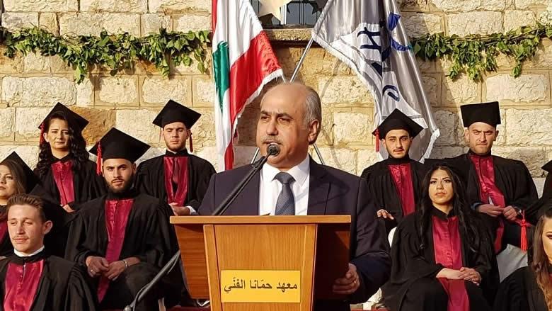 ابو الحسن من المعهد الفني في حمانا: لدعم التعليم الرسمي والمهني
